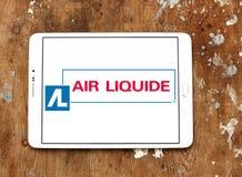 Logo de société de Liquide d'air Images stock