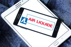 Logo de société de Liquide d'air Images libres de droits