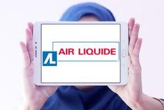 Logo de société de Liquide d'air Photographie stock