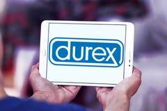 Logo de société de préservatifs de Durex photographie stock