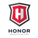 Logo de société de valeurs mobilières Photographie stock libre de droits