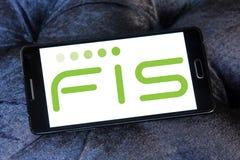 Logo de société de FIS Photographie stock