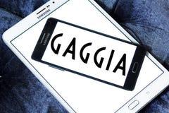 Logo de société de Gaggia Photos stock