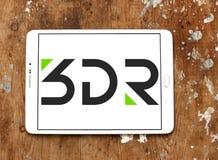 logo de société de la robotique 3D Photos stock