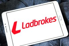 Logo de société de Ladbrokes Photo libre de droits