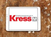 Logo de société de machines-outils de Kress Photo libre de droits