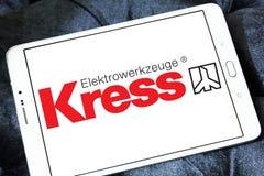 Logo de société de machines-outils de Kress Photos libres de droits