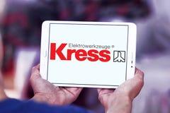 Logo de société de machines-outils de Kress Image stock