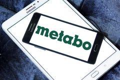 Logo de société de machines-outils de Metabo Photo libre de droits