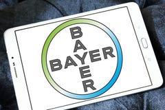 Logo de société pharmaceutique de Bayer Photos libres de droits