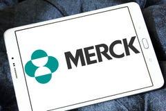 Logo de société pharmaceutique de Merck Image libre de droits