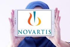 Logo de société pharmaceutique de Novartis Photographie stock libre de droits