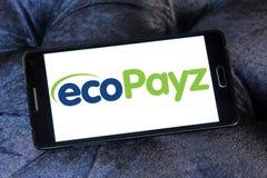 Logo de société de prestations de services de paiement d'EcoPayz Photos libres de droits