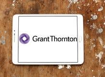Logo de société de services professionnels de Grant Thornton Images libres de droits