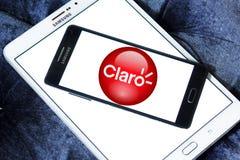 Logo de société de télécom de Claro Americas Photographie stock libre de droits