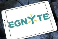 Logo de société de technologie d'Egnyte photos libres de droits