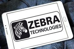 Logo de société de technologies de zèbre Image stock