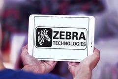 Logo de société de technologies de zèbre Photographie stock libre de droits