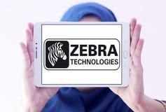 Logo de société de technologies de zèbre Image libre de droits