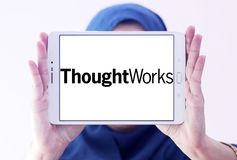 Logo de société de ThoughtWorks Photo stock