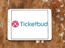 Logo de société de Ticketbud photographie stock