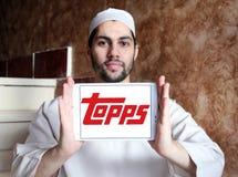 Logo de société de Topps Photo stock