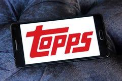 Logo de société de Topps Images stock