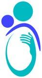 Logo de soin de chéri illustration stock