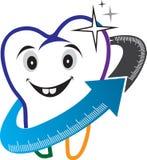 Logo de soins dentaires Images stock