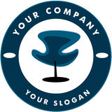 Logo de Solon de cheveu Images stock