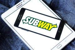 Logo de souterrain images stock