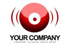 Logo de sphère d'oeil Images libres de droits