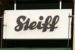 Logo de STEIFF Photos stock