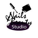 Logo de studio de clou illustration libre de droits