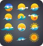 Logo de Sun Photos stock
