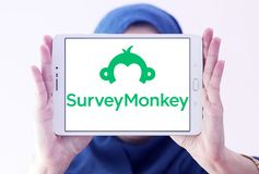 Logo de SurveyMonkey Photo libre de droits