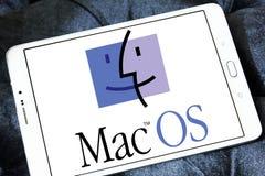 Logo de système d'exploitation de MaOS Photo libre de droits