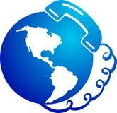Logo de télécommunication Images stock