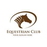 Logo de tête de cheval Image stock