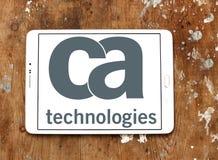 Logo de technologies de CA Images libres de droits