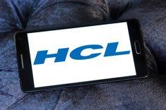 Logo de technologies de HCL Photo libre de droits