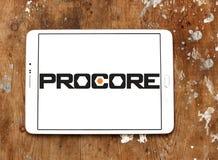 Logo de technologies de Procore Photo libre de droits