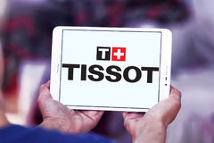 Logo de Tissot Photos stock