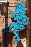Logo de Tocati - jeux de rue à Vérone Image stock