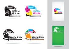 Logo de Toucan Photographie stock libre de droits