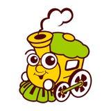 Logo de train Illustration de Vecteur