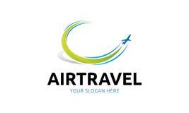 Logo de transports aériens Photo stock