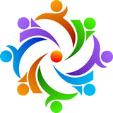 Logo de travail d'équipe