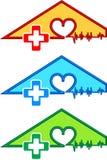 logo de triangle Photos libres de droits