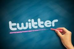 Logo de Twitter Photographie stock libre de droits